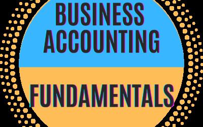 Business Accounting Fundamentals