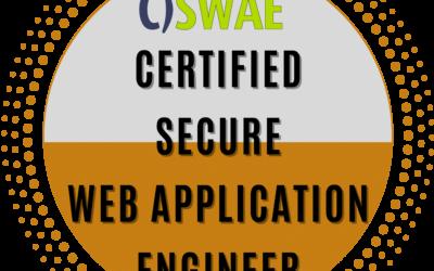 Certified Secure Web Application Engineer (CSWAE)