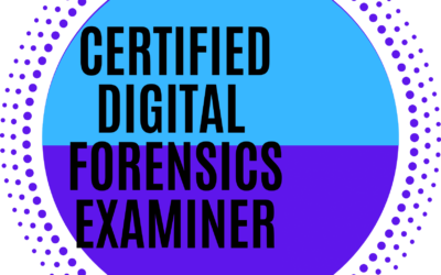Certified Digital Forensics Examiner