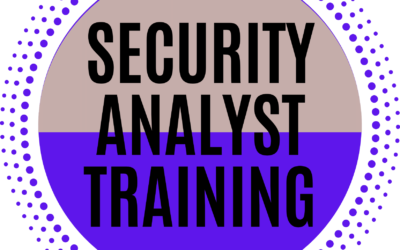 Security Analyst Training