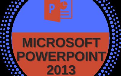 Microsoft Powerpoint 2013 – Basic to Advance Level