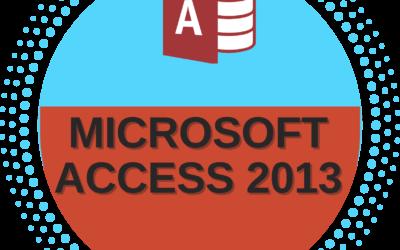 Microsoft Access 2013 – Beginner to Advance Level
