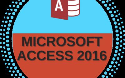 Microsoft Access 2016 – Beginner to Advance Level