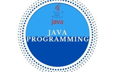 Java™ SE8 Programming – Virtual Class Training