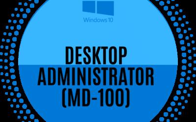Windows 10 (MD-100 Exam)