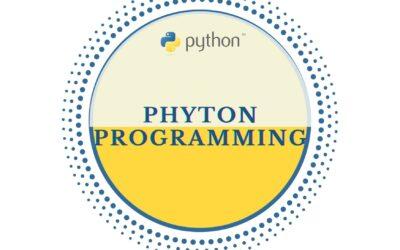 Phyton Programming Fundamentals
