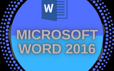 Microsoft Office Word 2016