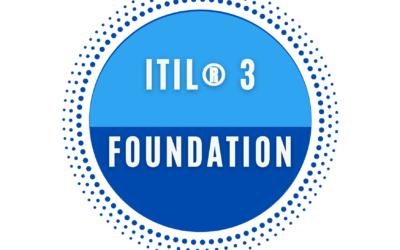 ITIL® 3 Foundation Certification