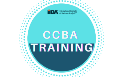 Certification Of Competency In Business Analysis (CCBA®) – Training
