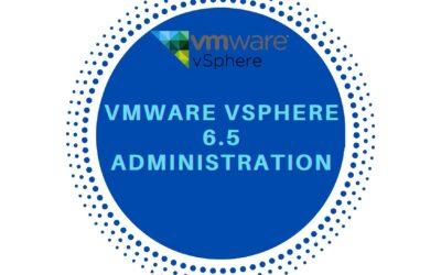 VMware vSphere 6.5 Administration