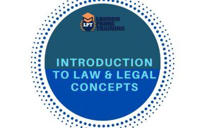 Law & Legal Concept Fundamentals