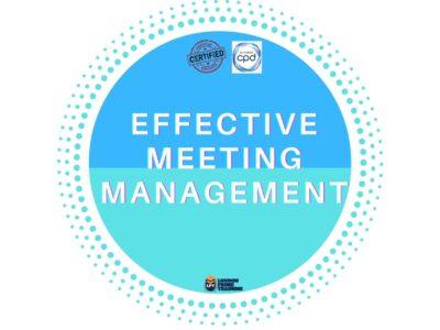 Effective Meeting Management